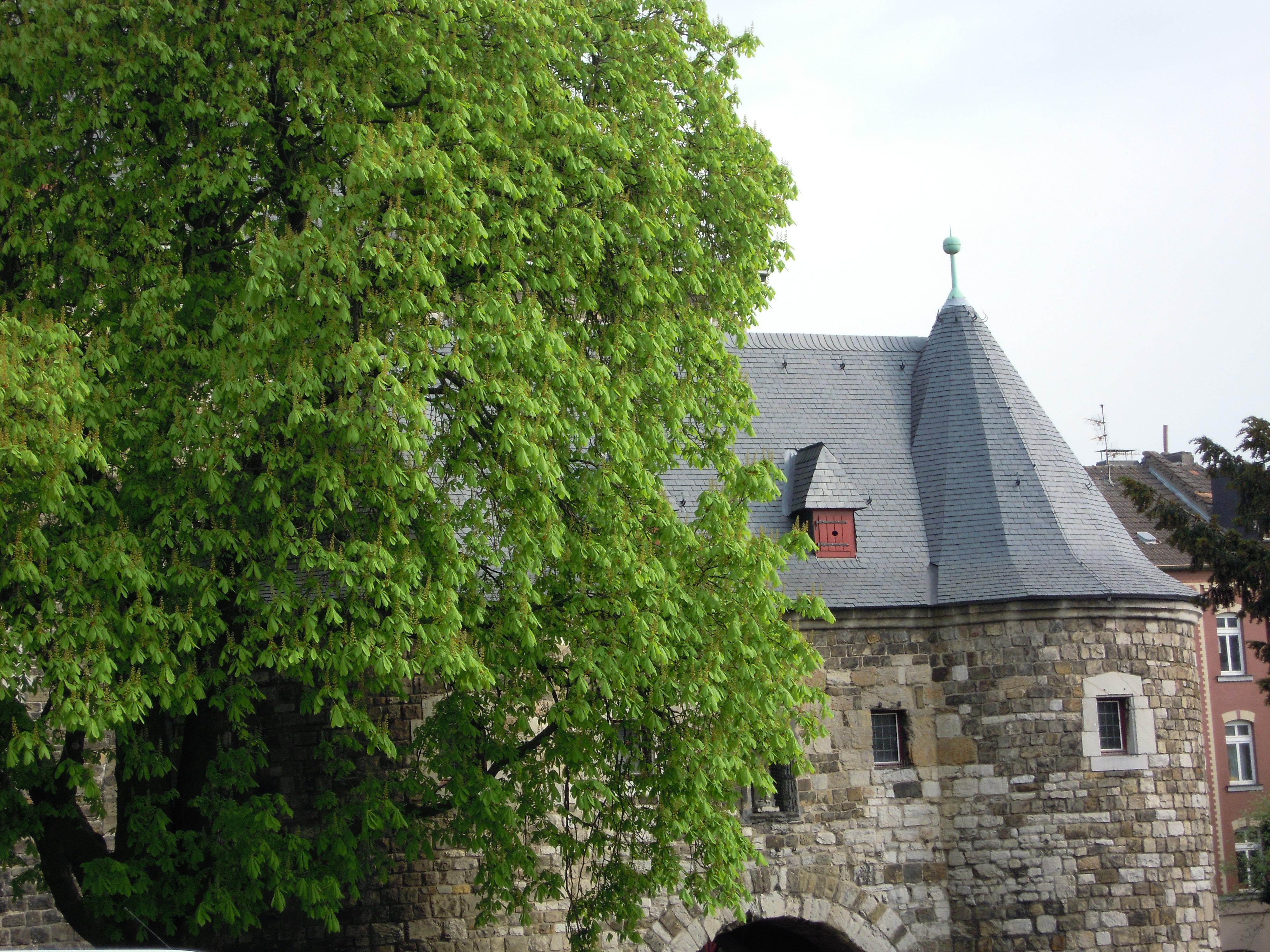 Das Ponttor in Aachen