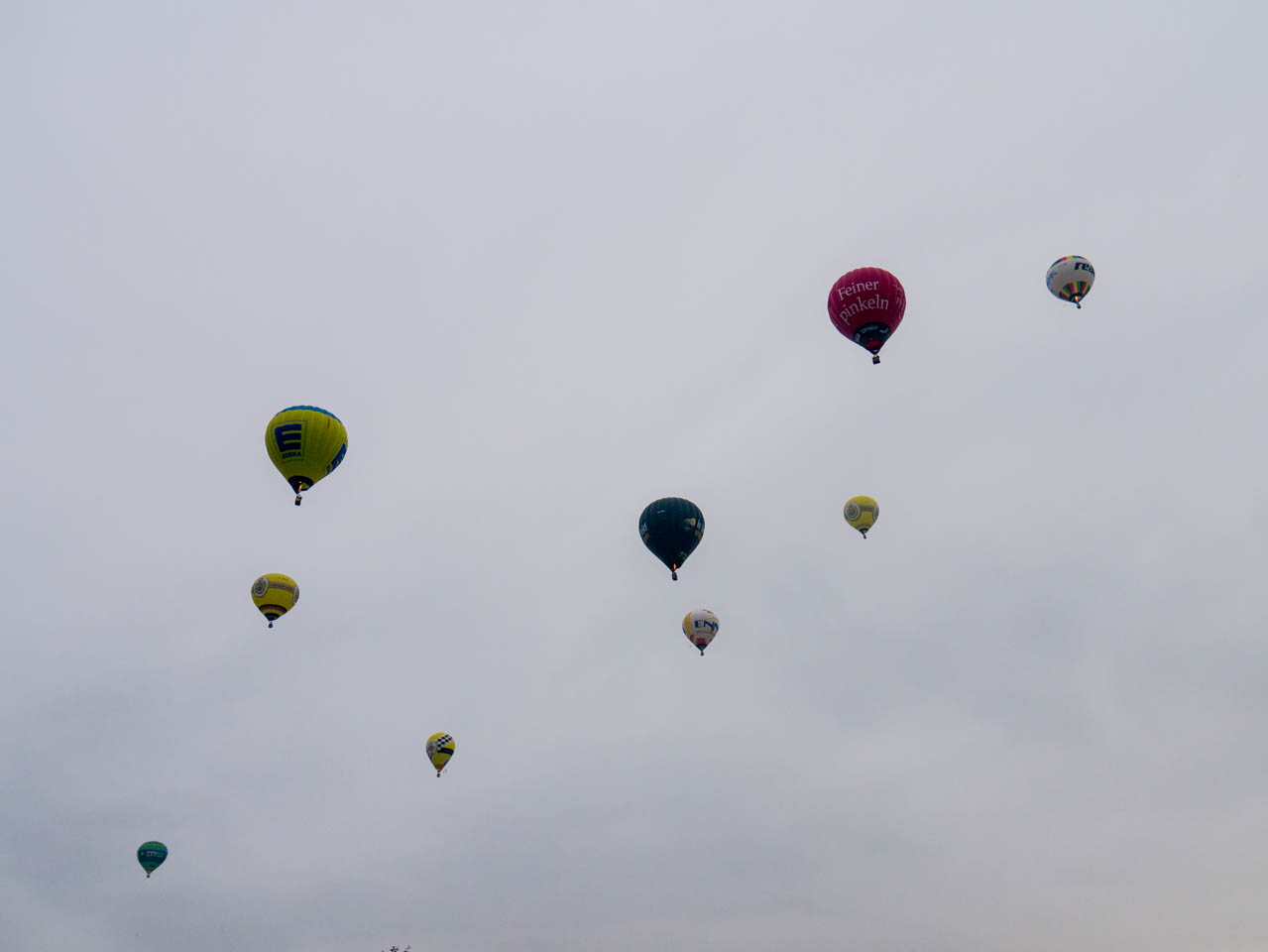 Ballone am Himmel (1 von 1)