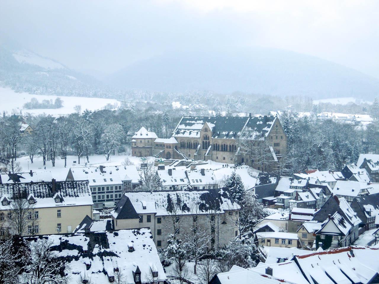 Kaiserpfalz von oben (1 von 1)