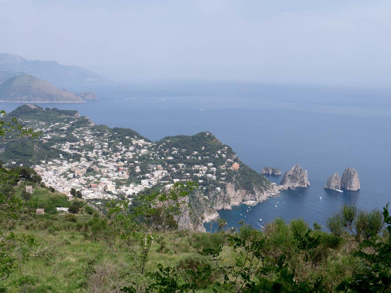 Blick nach Capri Stadt (1 von 1)