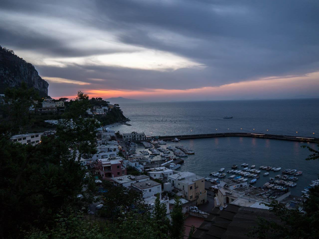 Marina Grande Sonnenuntergang (1 von 1)