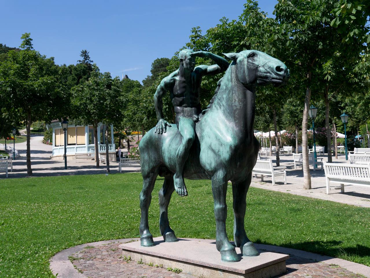 Reiter im Kurpark (1 von 1)