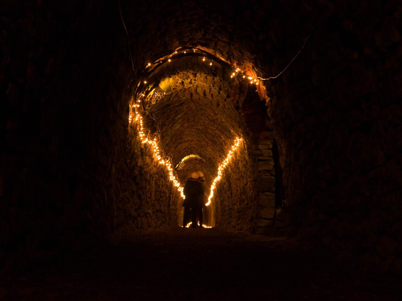 Beleuchteter Stollen (1 von 1)