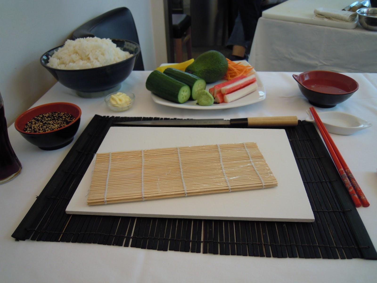 jessi entdeckt wie man sushi zubereitet fernweh und so. Black Bedroom Furniture Sets. Home Design Ideas